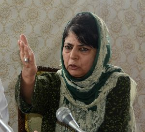 India News - Latest World & Political News - Current News Headlines in India - PIX: When Mehbooba lost her cool