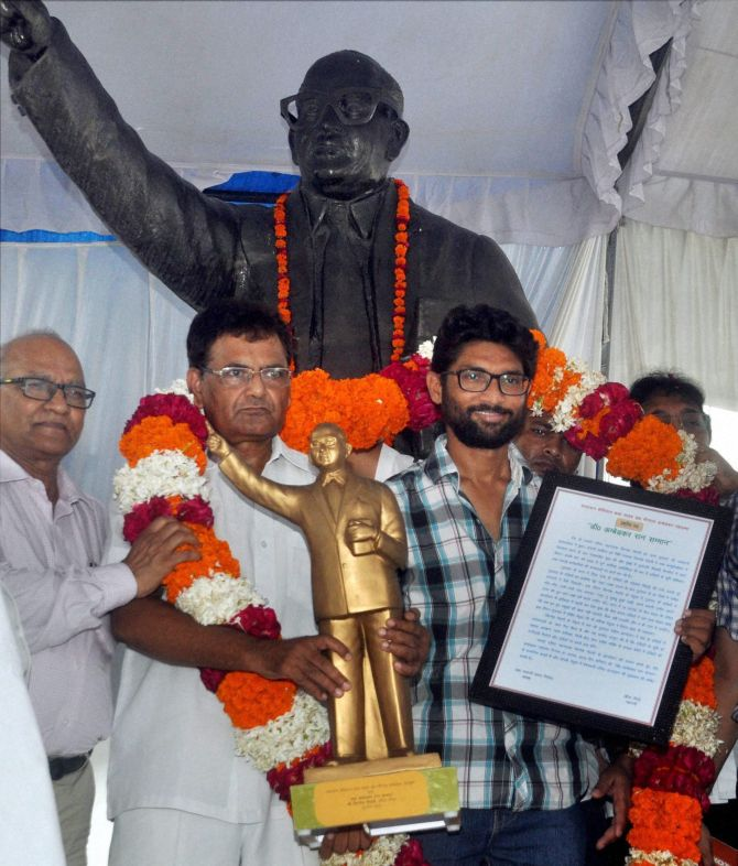 India News - Latest World & Political News - Current News Headlines in India - PM didn't do enough for Dalits in his home state: Mevani