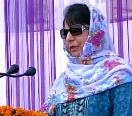 India News - Latest World & Political News - Current News Headlines in India - Go to school, pursue careers: Mehbooba to child stone pelters