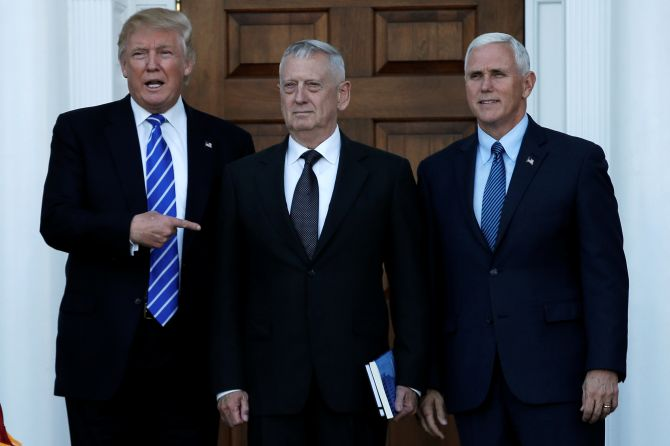 India News - Latest World & Political News - Current News Headlines in India - Trump to appoint 'Mad Dog' as new defence secretary