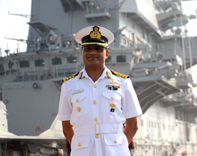 Latest News from India - Get Ahead - Careers, Health and Fitness, Personal Finance Headlines - 'The Navy transforms you as a person'