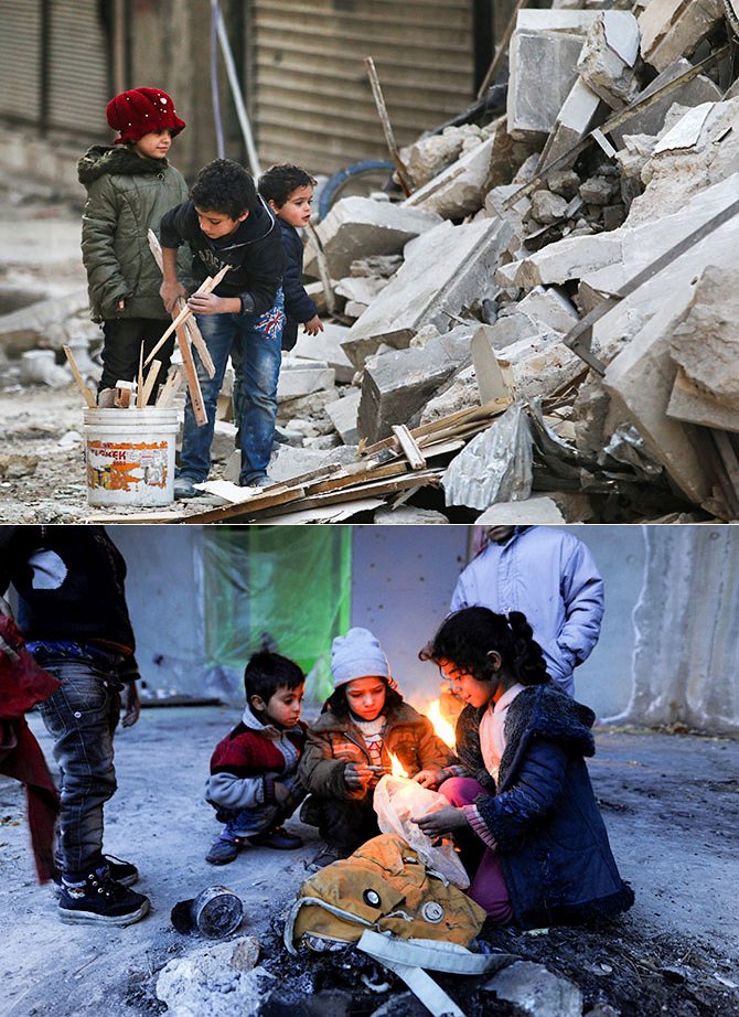 Aleppo Child Refugees