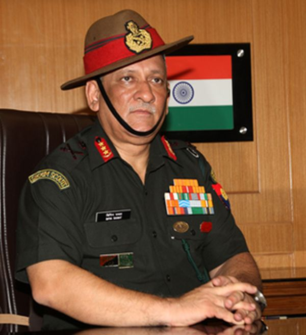 why the government chose general rawat rediff com india news