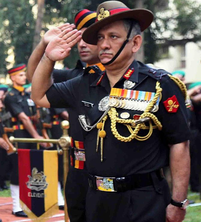 New Army chief: Why the govt ignored seniority - Rediff com