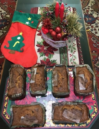 Christmas cakes all set to be devoured!