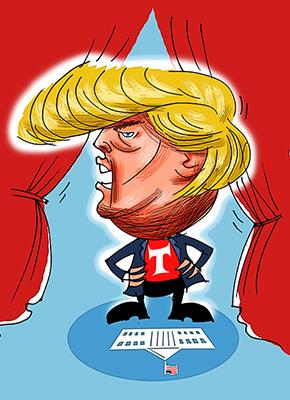 The era of Trump begins
