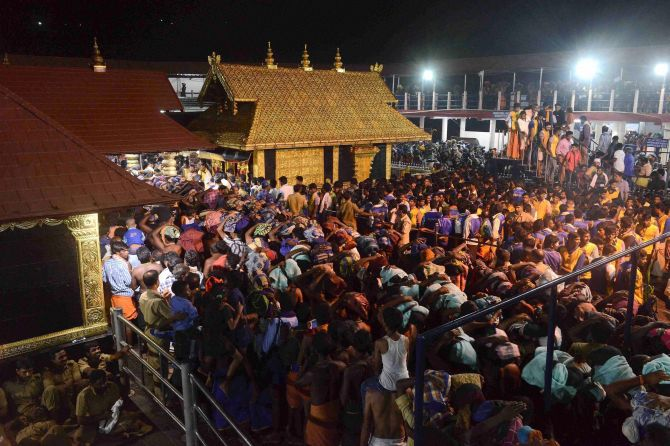 India News - Latest World & Political News - Current News Headlines in India - SC reserves order on referring Sabarimala temple entry row to Constitution Bench