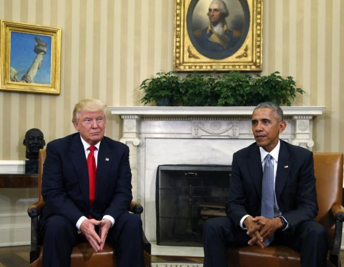 With no proof, Trump says Obama wire-tapped him