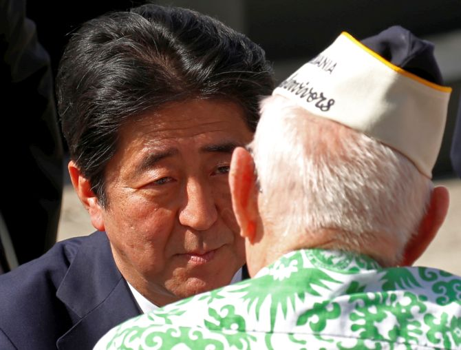 India News - Latest World & Political News - Current News Headlines in India - Abe's visit to Pearl Harbour goes beyond symbolism
