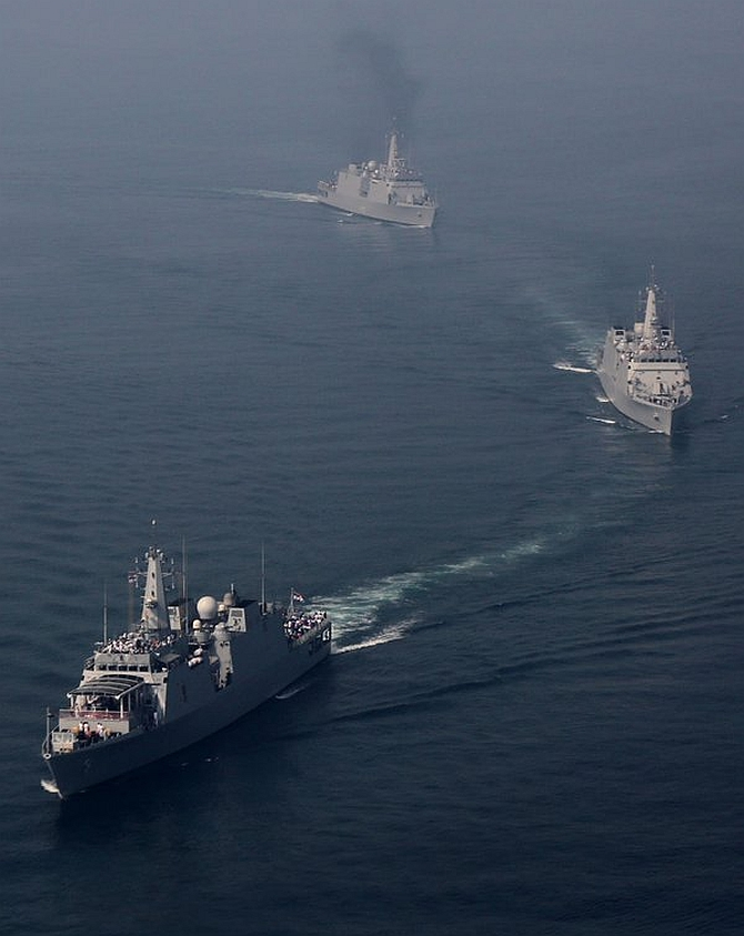India News - Latest World & Political News - Current News Headlines in India - PIX: Navy's action-packed prep ahead of fleet review