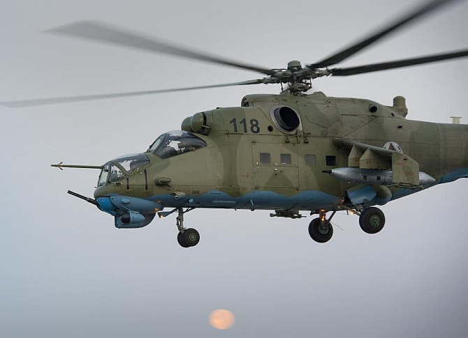 Indian Mi-35 helicopters made a difference in Afghanistan: US Gen
