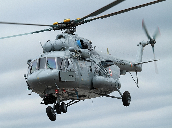 Russia delivers final batch of Mi-17V-5 choppers to India
