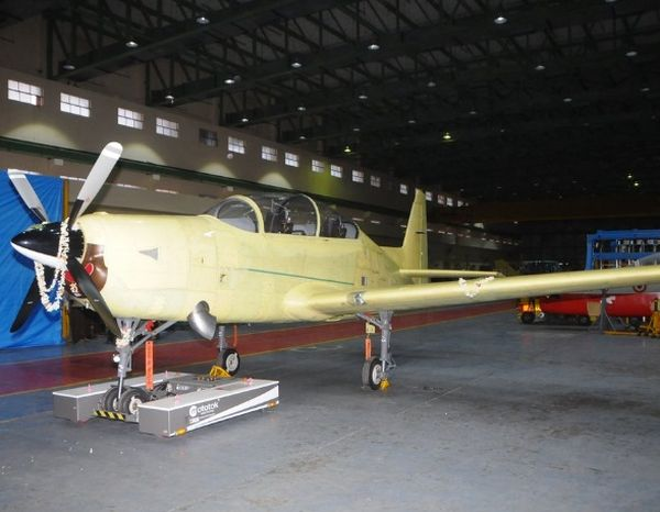 Fully built desi trainer aircraft readies to fly