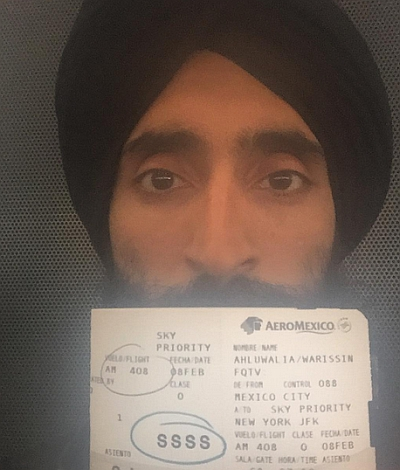 India News - Latest World & Political News - Current News Headlines in India - US-based Sikh actor Waris Ahluwalia denied boarding due to turban