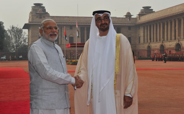 India News - Latest World & Political News - Current News Headlines in India - Abu Dhabi's Crown Prince meets Modi