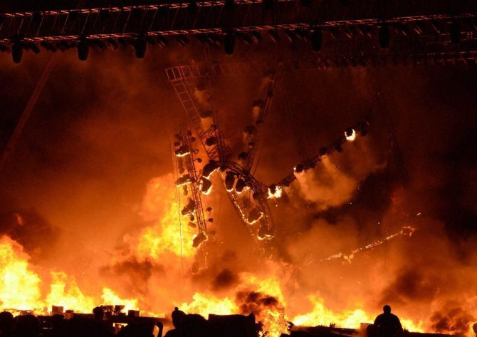 India News - Latest World & Political News - Current News Headlines in India - 10 killed in fire at explosives factory near Tiruchirappalli