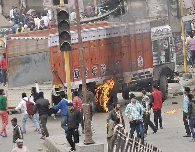 Jat agitation: Army called in, curfew imposed in Rohtak and