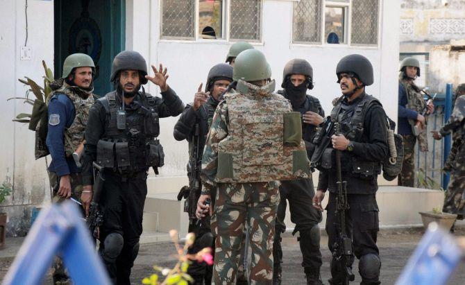Combing ops in Pathankot Air Base