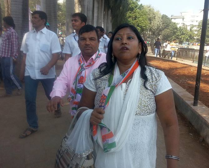 Meera Nori, Mumbai Congress general secretary