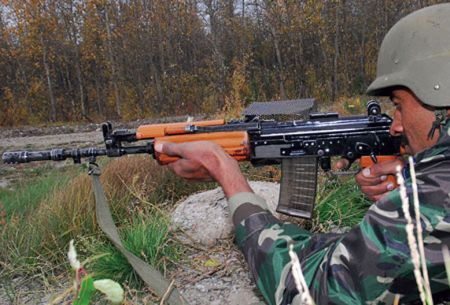 Indian army soldiers modify INSAS as they await new guns