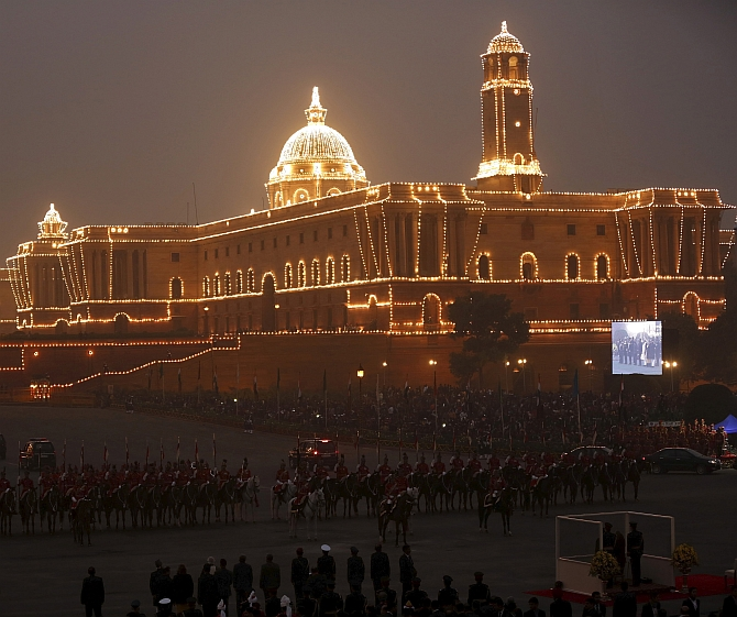 India News - Latest World & Political News - Current News Headlines in India - PIX: Republic Day celebrations end on a high note