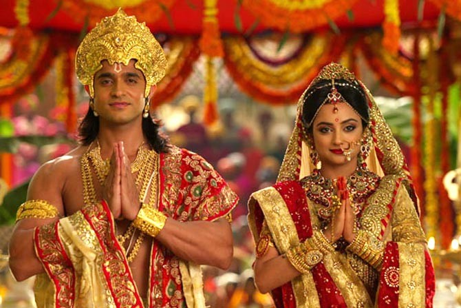 Siya Ke Ram is the latest serial based on the Ramayan to hit the television screen