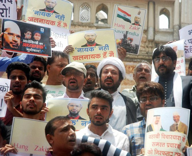 India News - Latest World & Political News - Current News Headlines in India - 'Modi must say Zakir Naik is spreading hatred'