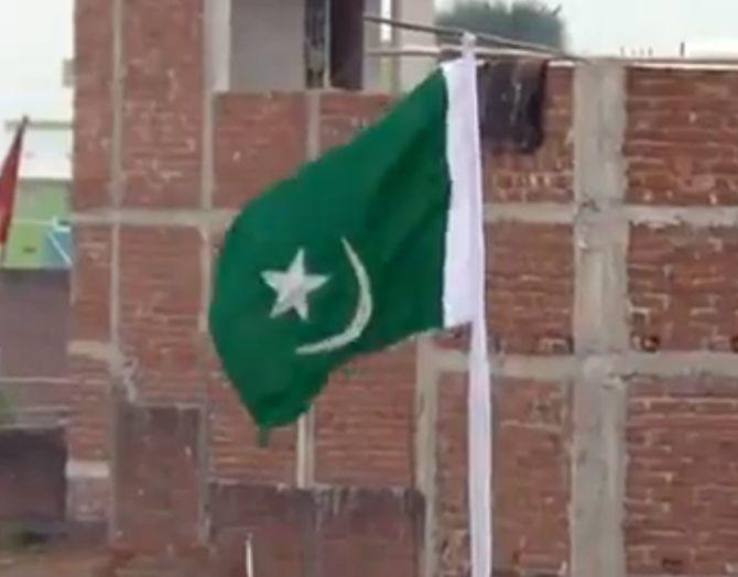 Bihar Three Arrested For Hoisting Pakistan Flag Rediff