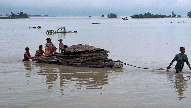 India News - Latest World & Political News - Current News Headlines in India - Floods wreck havoc in Arunachal Pradesh