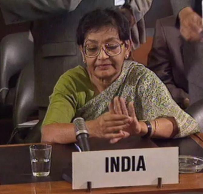 India News - Latest World & Political News - Current News Headlines in India - Ex-diplomat Arundhati Ghose, who led India's opposition to CTBT, dies