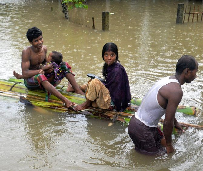 India News - Latest World & Political News - Current News Headlines in India - 3,500 homes destroyed and counting: Flood situation in Arunachal worsens