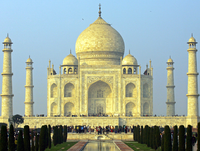 Is The Taj Mahal Turning Yellow Rediff Com India News