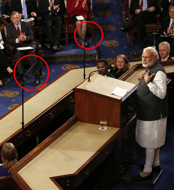 India News - Latest World & Political News - Current News Headlines in India - The teleprompters behind Modi magic on Capitol Hill