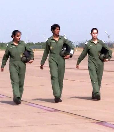 Meet India's first 3 women fighter pilots