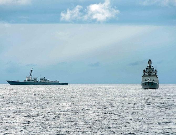 Malabar war games are a counterpunch to China