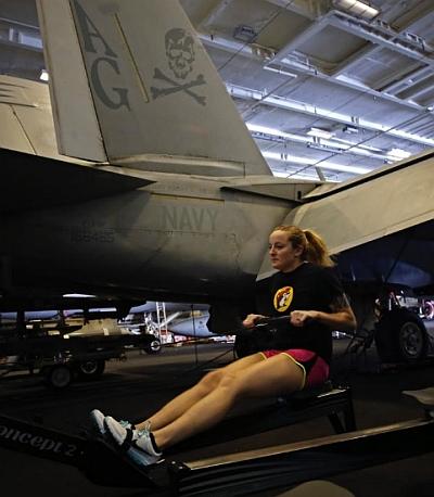 PHOTOS: Life inside an aircraft carrier