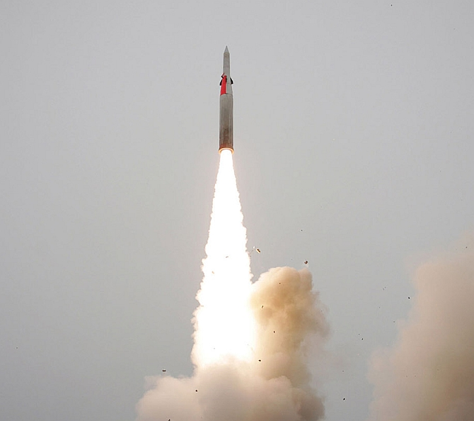 India tests new surface-to-air missile co-developed with Israelis