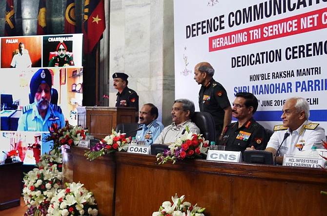India's first defence communication network goes live