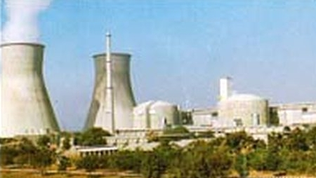 The Kakrapar nuclear plant in Gujarat.