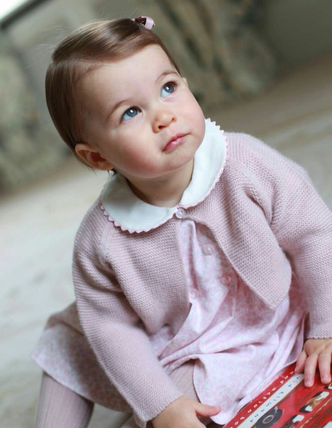 India News - Latest World & Political News - Current News Headlines in India - My, how you've grown! Britain's Princess Charlotte turns 1