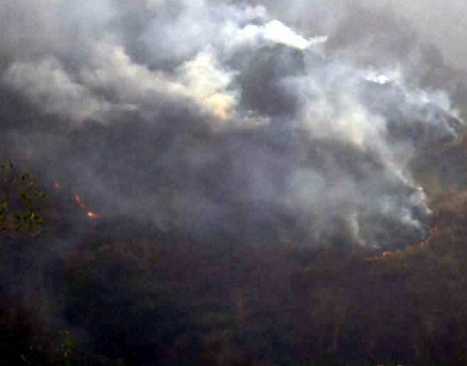 India News - Latest World & Political News - Current News Headlines in India - Fire out in 70 per cent of affected areas in Uttarakhand