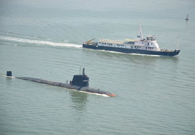 INS Kalvari to hit waters for final trial in September