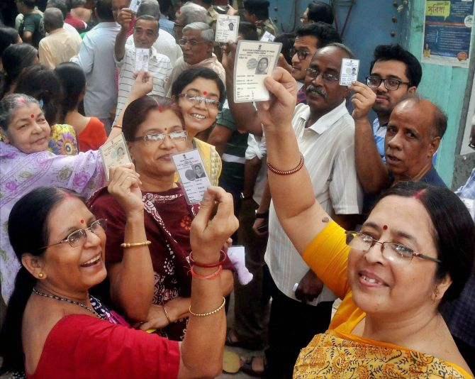 India News - Latest World & Political News - Current News Headlines in India - WB polls: 84.24 per cent turnout in sixth and final phase