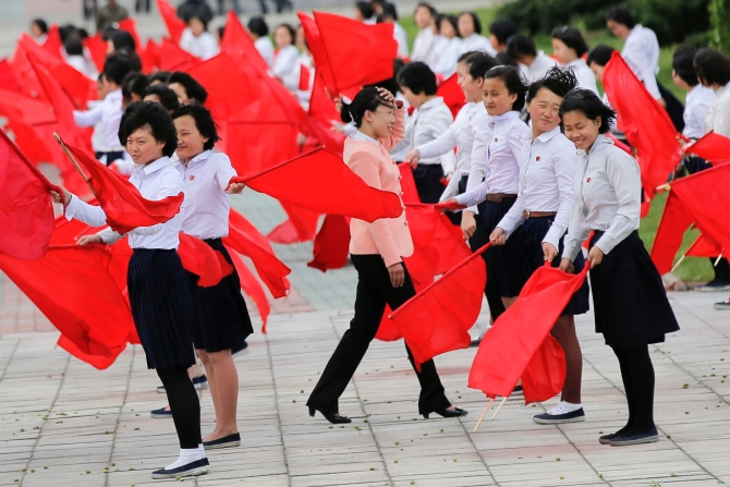 India News - Latest World & Political News - Current News Headlines in India - PHOTOS: North Korea readies for the 'Kim show'