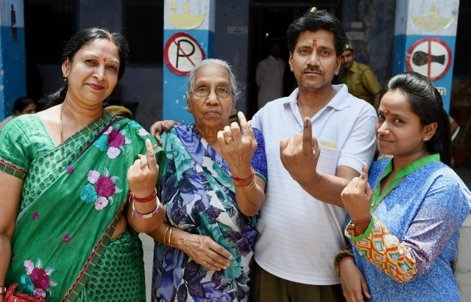 India News - Latest World & Political News - Current News Headlines in India - Nearly 46 per cent turnout in MCD bypolls billed as litmus test