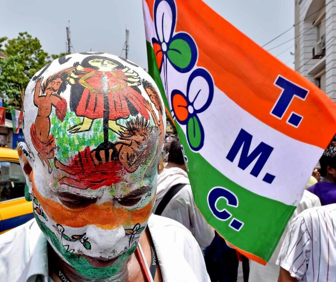 Mamata's TMC sweeps aside opposition in West Bengal - Rediff