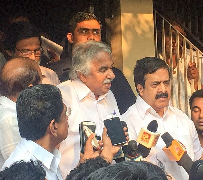 It has turned out to be a humiliating defeat :    Ramesh Chennithala, home minister in the Oommen Chandy government