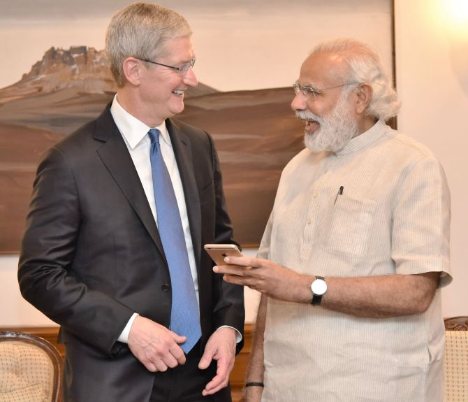 Looking forward to opening retail stores in India: Tim Cook