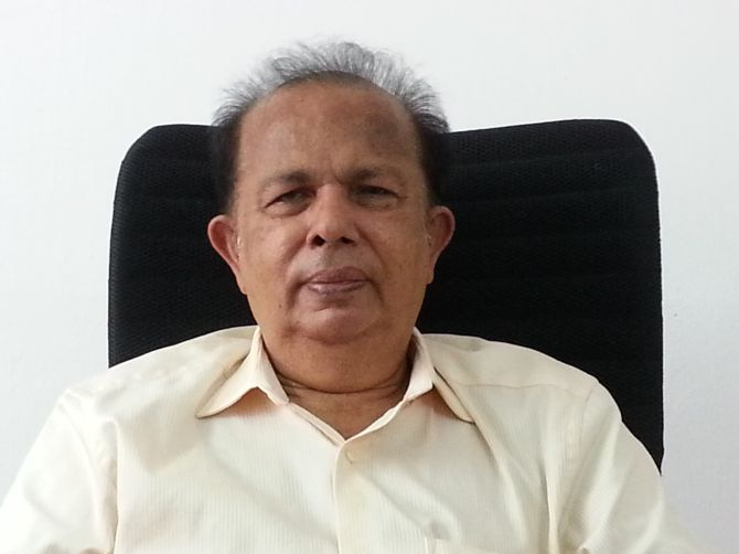 ISRO is ready to give the Americans a run for their money :    former Indian Space Research Organisation chairman, G Madhavan Nair