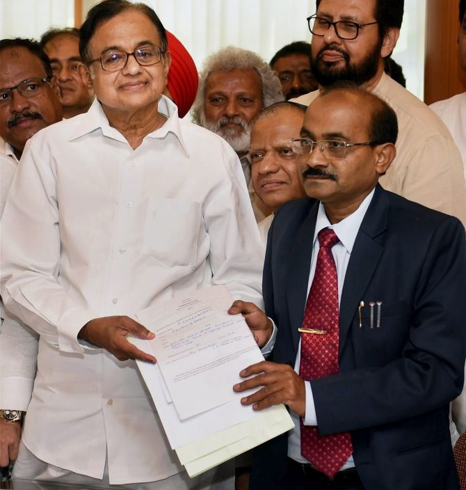 India News - Latest World & Political News - Current News Headlines in India - Chidambaram, MJ Akbar, Prabhu in the fray for RS nominations